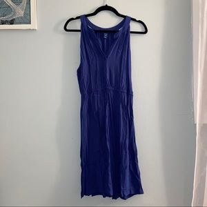 Old Navy Blue Midi Dress